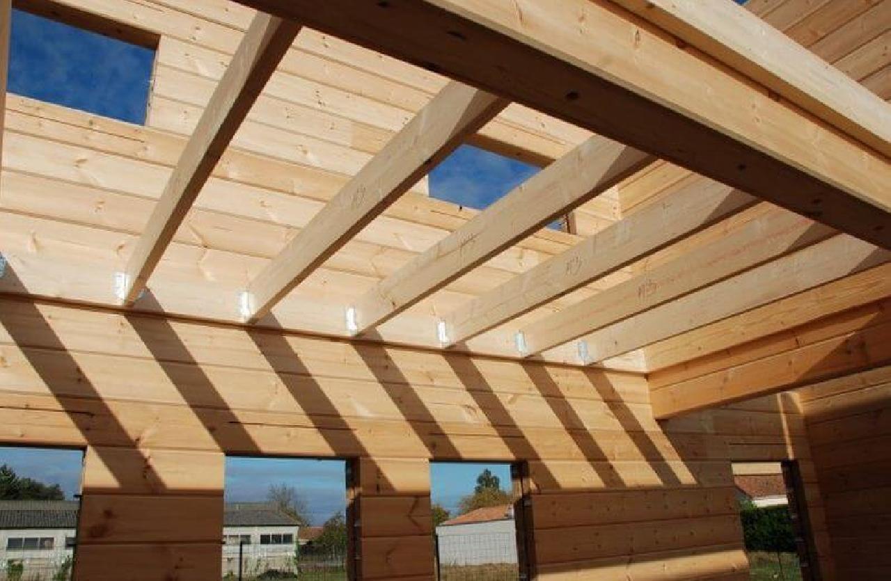Как сделать перекрытия второго этажа деревянного дома
